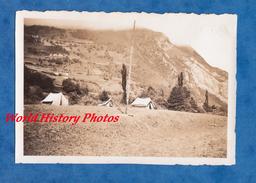 """Photo Ancienne - URDOS - Camping - """" L' Etat Major """" - Juillet 1935 - Pyrénées-Atlantiques - Places"""