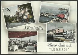 """SANTA MARINELLA (Roma): Albergo Ristorante """"Le Naiadi"""" Con Auto Anni '50 - Unclassified"""