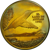 Guatemala, Quetzal, 1995, SPL, Laiton, KM:1a.2 - Guatemala