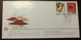 Vietnam  Michel Nr: 2487 -8 Cover SOS Kinderdorf     #A34