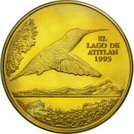 Guatemala, Quetzal, 1995, Tower, SPL, Laiton, KM:1a.1 - Guatemala