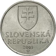 Slovaquie, 20 Halierov, 2001, FDC, Aluminium, KM:18 - Slovaquie