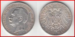 ** BADE - BADEN - ALLEMAGNE - GERMANY - DREI MARK 1911 G - 3 MARK 1911 G FRIEDRICH II - ARGENT - SILVER **ACHAT IMMEDIAT - 2, 3 & 5 Mark Silver