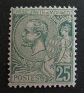 LOT R3586/231 - MONACO - 1891 - Prince Albert 1er - N°16 - NEUF * - Cote : 350,00 € - Neufs
