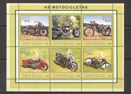 VV344 2001 GUINE-BISSAU AS MOTOCICLETAS 1KB MNH