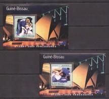 VV397 2001 GUINE-BISSAU OLYMPICS JUDO SYDNEY 2000 2BL MNH