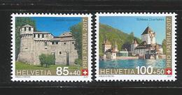 SWITZERLAND 2017 - PRO PATRIA - FORTRESSES & CASTLES - MNH - No % On Payment
