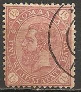 Timbres - Roumanie - 1891 - 1 1/2 B. - N° 83 -