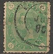 Timbres - Roumanie - 1890 - 5 B. - N° 85 -