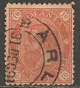 Timbres - Roumanie - 1890 - 10 B. - N° 86 -