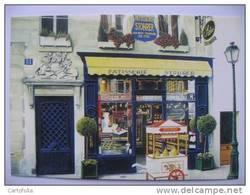 STOHRER - Patissier Chocolatier  -  Paris - Rue De Montorgueil  Carte Moderne - Magasins