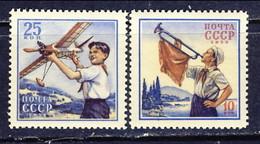 USSR 1958, Mi 2087-88** - International Children's Day - Nuevos