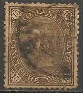 Timbres - Roumanie - 1890 - 15 B. - N° 87 -