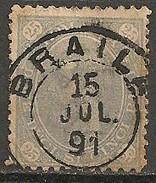 Timbres - Roumanie - 1890 - 25 B. - N° 88 -