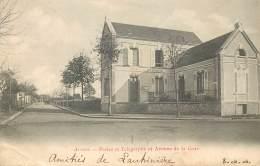 France - 28 - Arrou - Postes Et Télégraphe Et Avenue De La Gare - France