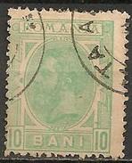 Timbres - Roumanie - 1894 -10 B. - N° 104 -