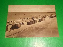 Cartolina Saluti Da Bellaria - La Spiaggia 1948 - Rimini
