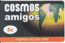 GREECE - Amigos, Cosmos Prepaid Card 5 Euro, Sample