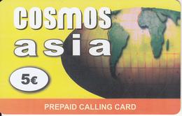 GREECE - Asia, Cosmos Prepaid Card 5 Euro, Sample - Greece