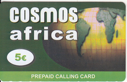GREECE - Africa, Cosmos Prepaid Card 5 Euro, Sample