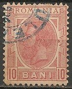 Timbres - Roumanie - 1898 -10 B. - N° 105 -