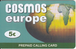 GREECE - Europe, Cosmos Prepaid Card 5 Euro, Sample - Greece