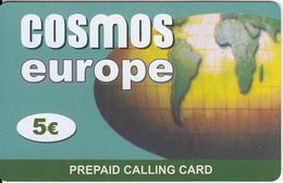 GREECE - Europe, Cosmos Prepaid Card 5 Euro, Sample