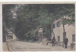 Baden Bei Wien - Café Jammerpepi - Animiert       (A-37-150106) - Altri