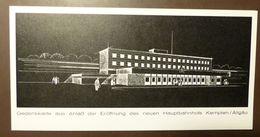 Bund  Eisenbahn Kempten Hauptbahnhof 1969  #A48