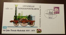 Bund  Eisenbahn Nürnberg 140 Jahre Adler 1975 #A49