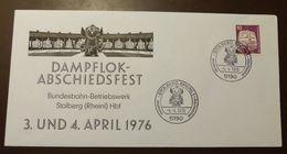 Bund  Eisenbahn Stolberg Dampflok Fest 1976 #A50