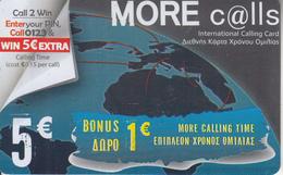 GREECE - More Calls Prepaid Card 5 Euro, Sample