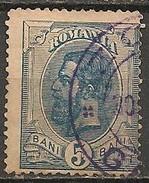 Timbres - Roumanie - 1894 -5 B. - N° 102 -
