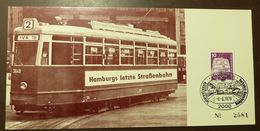 Bund  Eisenbahn Hamburg Letzte Straßenbahn  #A53