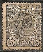 Timbres - Roumanie - 1898 - 15 B. - N° 107 -