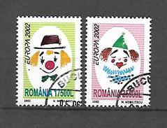 Romania 2002 Europa USED (S1580)