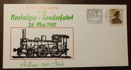 Bund  Eisenbahn Lichtenfels Sonderfahrt 1981   #A56