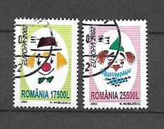 Romania 2002 Europa USED (S1589A)