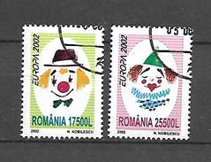 Romania 2002 Europa USED (S1595A)