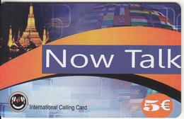 GREECE - Monument, Now Talk Prepaid Card 5 Euro, Sample
