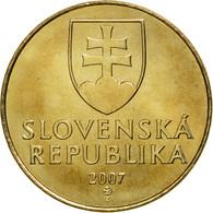 Slovaquie, Koruna, 2007, FDC, Bronze Plated Steel, KM:12 - Slovaquie