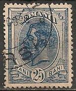 Timbres - Roumanie - 1900 - 25 B. - N° 119 -