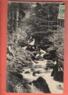 EAE-08  Cascades Saint-Nicolas, Kruth  Cachet Frontal 1913. - Other Municipalities