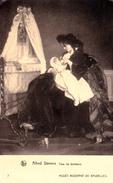 ALLAITEMENT Au SEIN / BREASTFEEDING : TOUS LES BONHEURS Par ALFRED STEVENS / BRUXELLES - ANNÉE / YEAR ~ 1910 (w-217) - Vrouwen