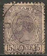 Timbres - Roumanie - 1903 - 15 B. - N° 131 -