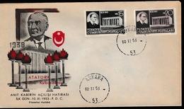 FDC-003 TURKEY ATATURK ANITKABIR OPENING F.D.C.