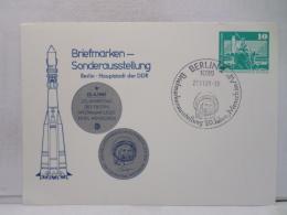 FBN,STORIA POSTALE,CARTOLINA,MANIFESTAZIONI,ANNULLI,F.D.C.PRIMO GIORNO,GERMANIA,BERLIN,1981,VIAGGIATA,FIRST DAY
