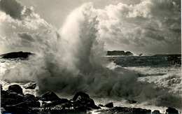 SCILLY ISLES - STORM AT SCILLY  RP - GIBSON C8 Or G8  Sc70 - Scilly Isles