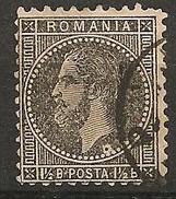 Timbres - Roumanie - 1879 -1 1/2 B. - N° 48 -