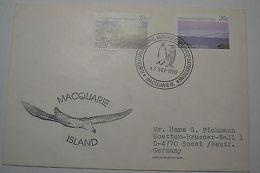 Australia Antarctic Macquarie Island 13/9/1989 Albatross Cachet
